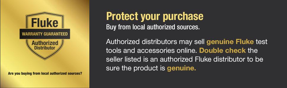 Fluke, authorized, distributor