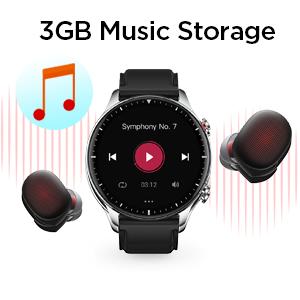 Music Storage Smartwatch