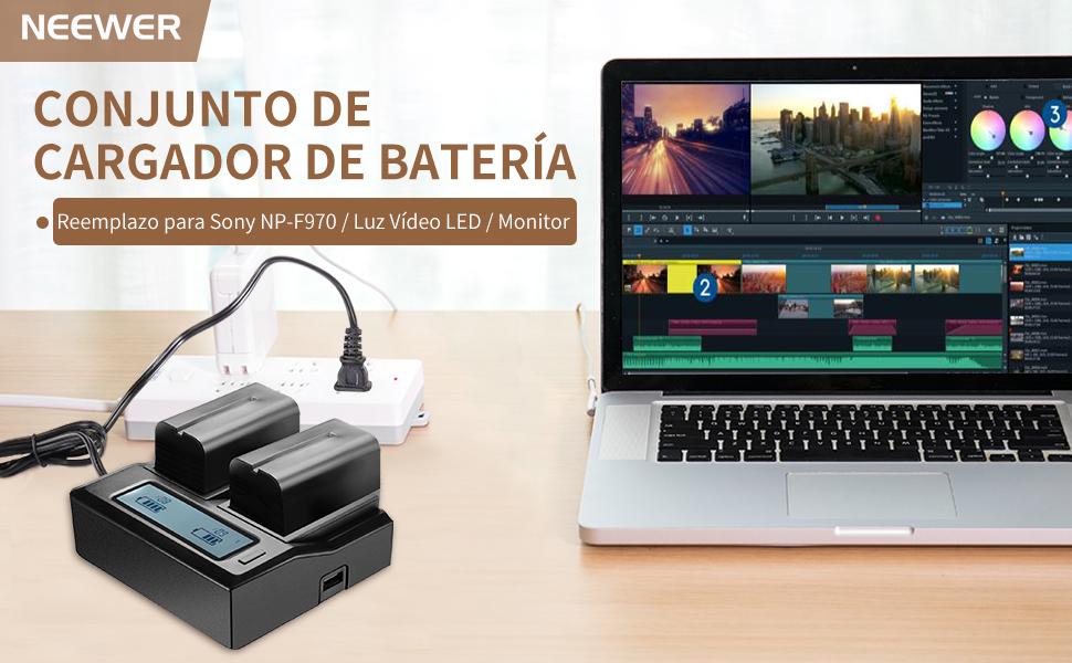 Cambio De Nikon EN-EL3 Batería Para Sony F570//F770//F960//F970 Adaptador Convertidor Soporte