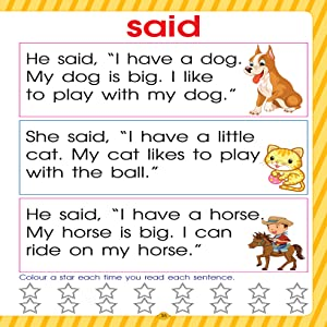 sentences, english learning, early learning, Dreamland Publications