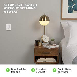 Setup light switches without breaking a sweat