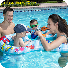 baby floats;baby pool rider;mommy and me swim;learn to swim;baby swim toys;learn to swim toys