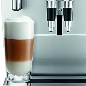 Amazon.com: Jura J90 máquina de café automática, plateado ...