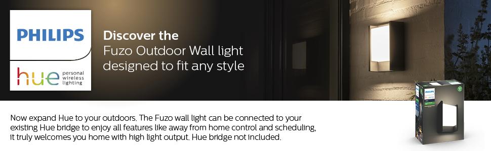 Fuzo Wall Lantern Black