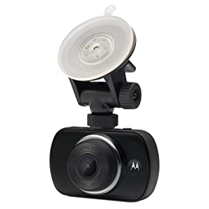 The Motorola MDC50 Dash Cam gives you peace of mind while driving as it captures a video of what's h