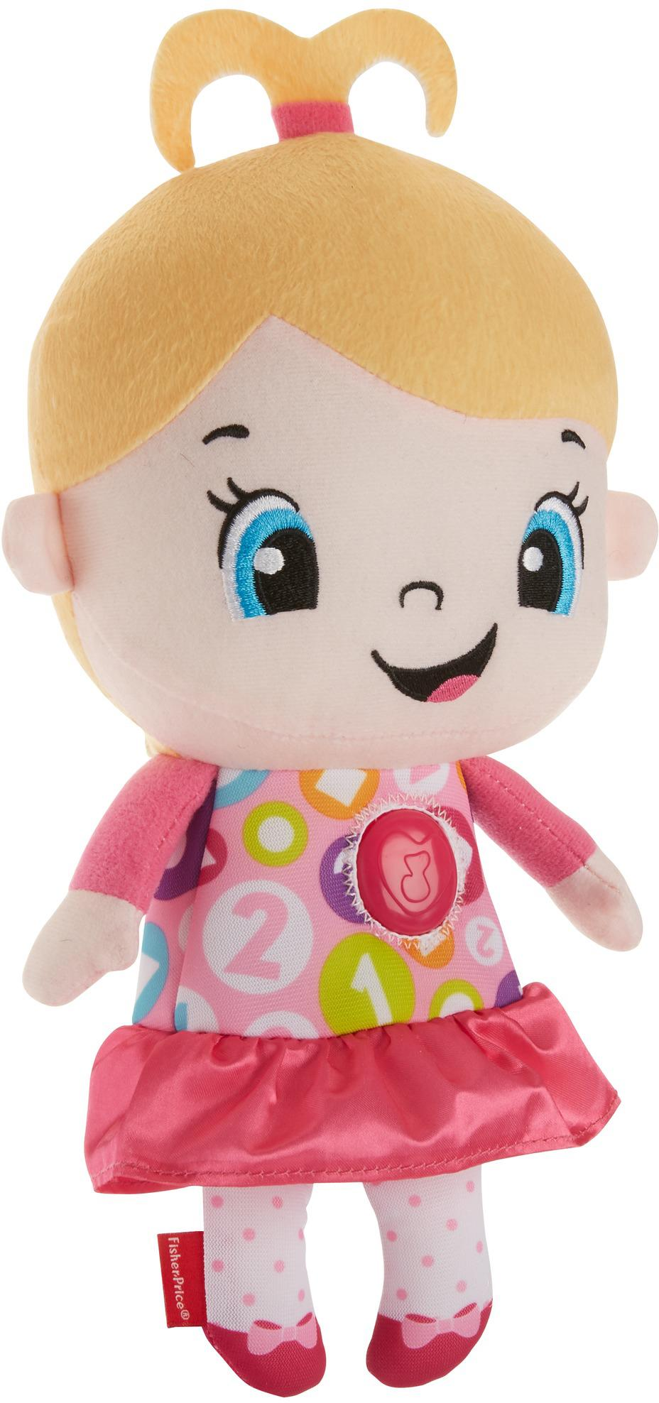 Amazon.com: Fisher-Price Laugh & Learn My aprendizaje muñeca ...