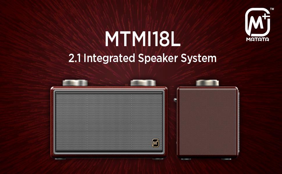 Matata MTMI18L 2.1 Integrated Speaker System
