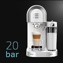 Cecotec Cafetera Semiautomática Power Instant-ccino 20 Chic Serie ...