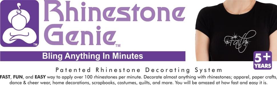 Rhinestone Genie Logo