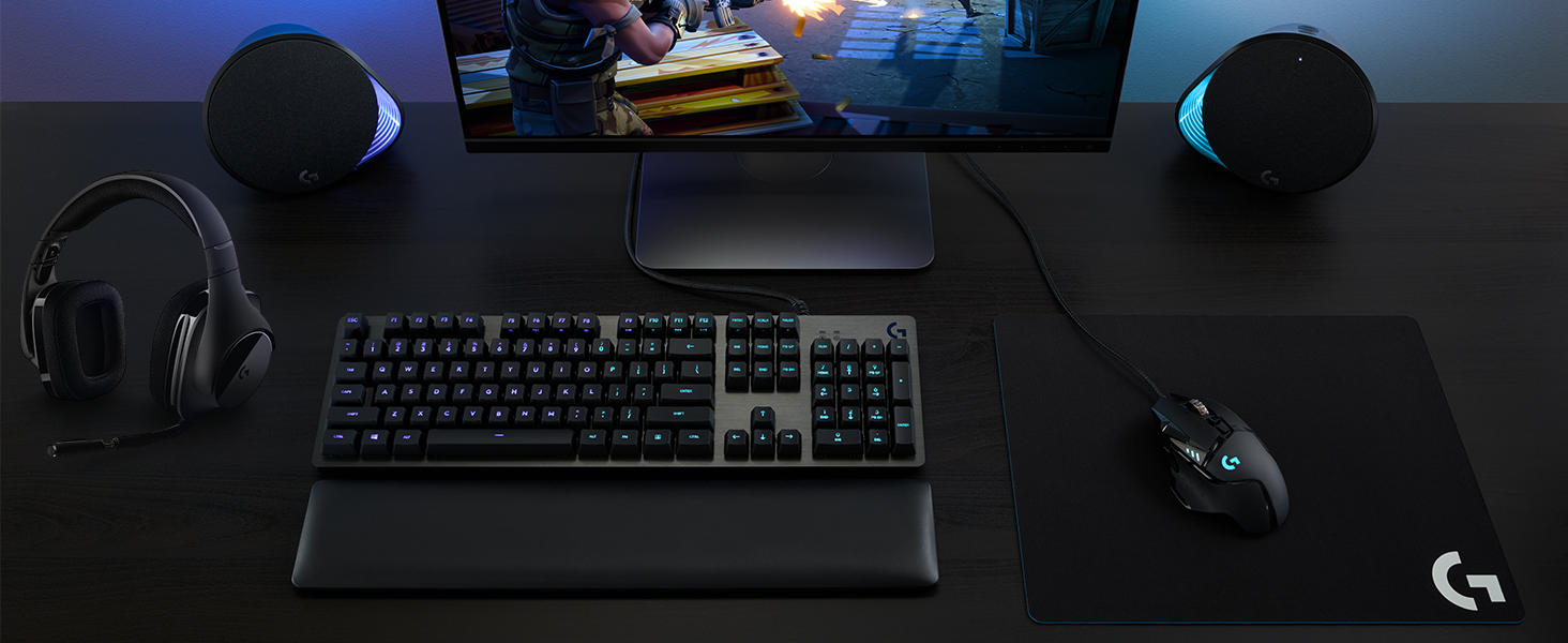G513 RGB + LIGHTSYNC Mechanical Gaming Keyboard