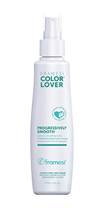 Framesi Color Lover Progressively Smooth, tames hair with each application, transforms hair