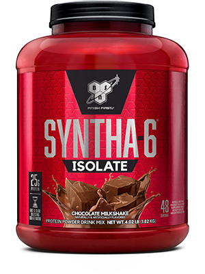 SYNTHA-6 ISOLATE a 50/50 blend of Whey Protein Isolate and Milk Protein Isolate