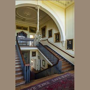 Doddington Hall, lincolnshire, old staircase, sixteenth century home