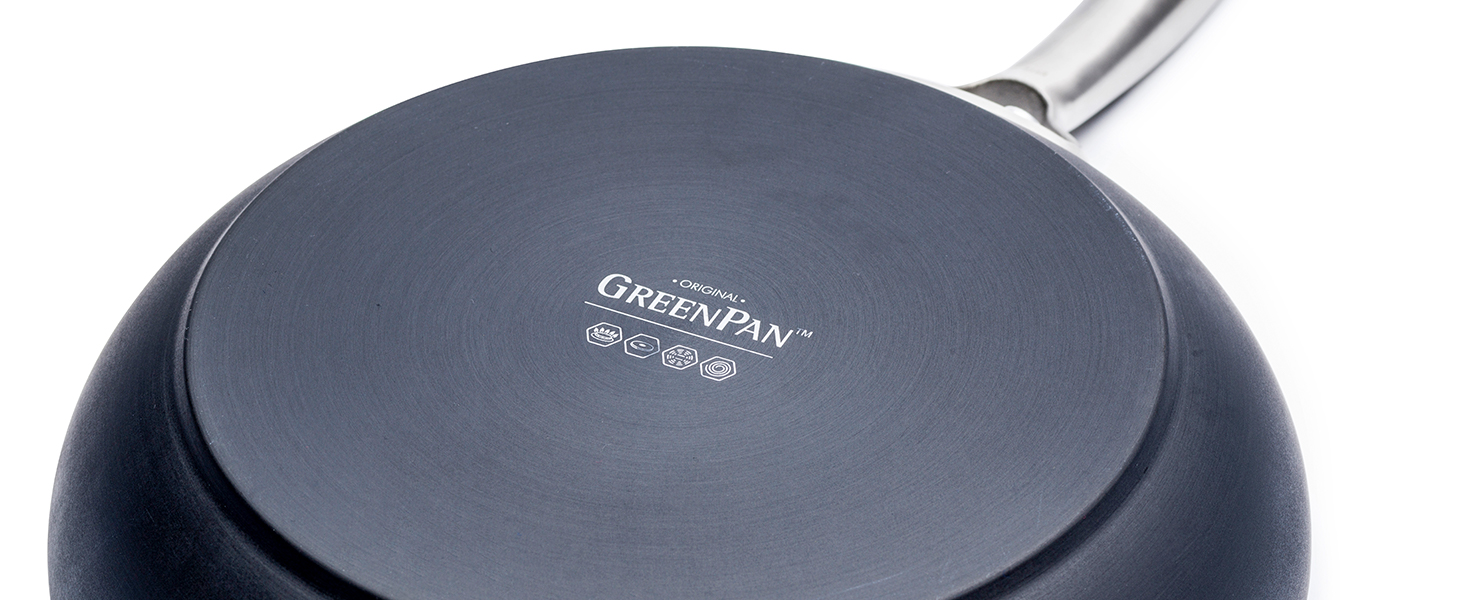 GreenPan, Paris Pro, Healthy Ceramic Nonstick, durable forged base, heavy duty, cookware set, tough