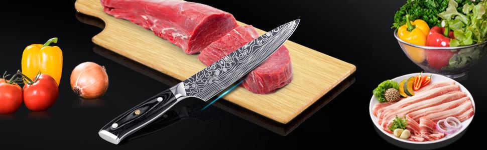 Mosfiata Chef S Knife Kitchen Knife Meat Knife Professional Küche Haushalt