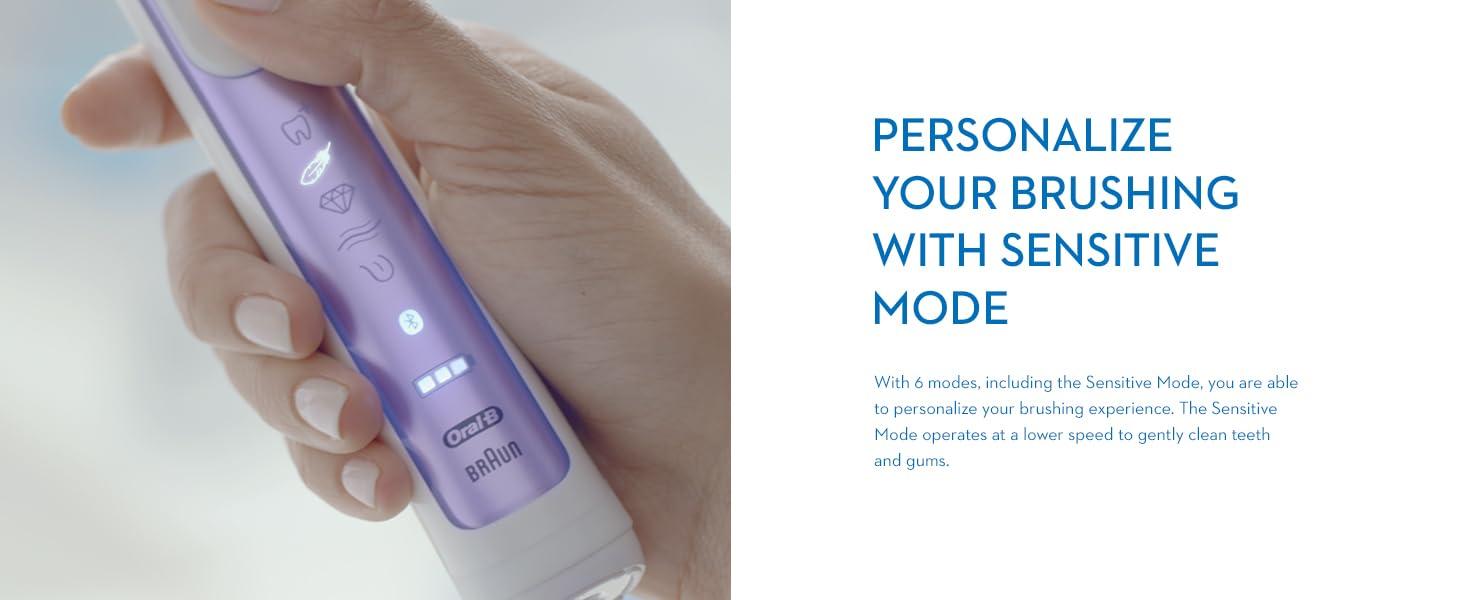 Oral-B Genius 9000 Orchid Purple Sensitive