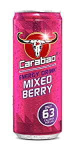 carabao;mixed;berry;energy;drink;low;sugar;calories;carabow;caraboa