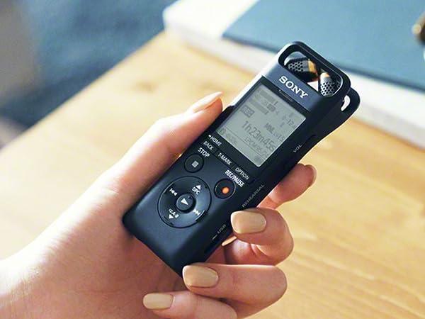 Sony PCM-A10 Diktiergerät (High-Res Aufnahme, FLAC, Stereo Mikrofon
