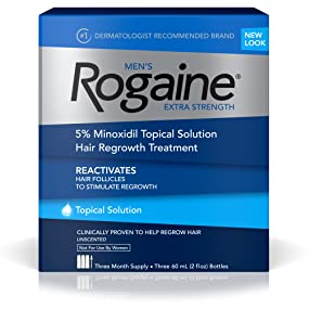 Men's ROGAINE Extra Strength Hair Loss and Hair Regrowth Treatment