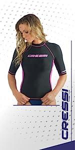 rash guard lady, rash guard, uv protection, surf rash guard, snorkeling rash guard