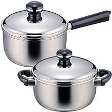 片手鍋 両手鍋 シンプル