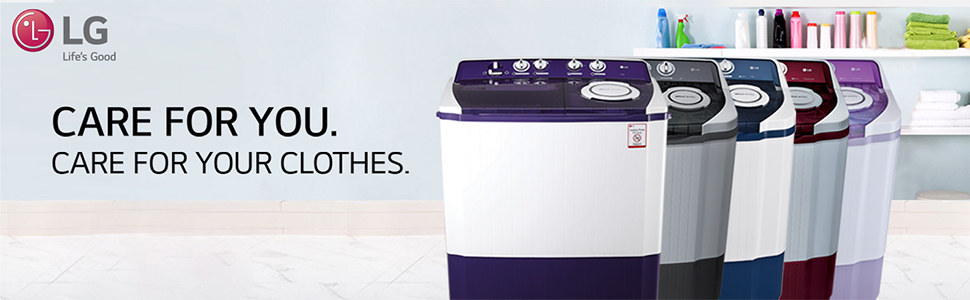 LG Semiautomatic washing machines