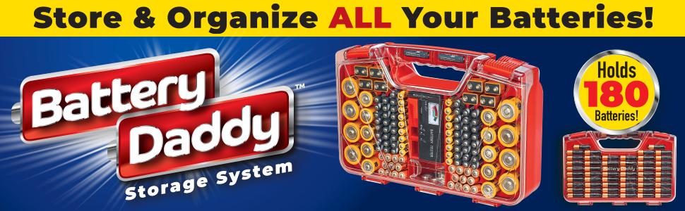 Battery Daddy storage system header
