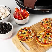 mini pizza;pizza festa