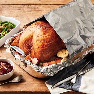 Foil Tent Turkey