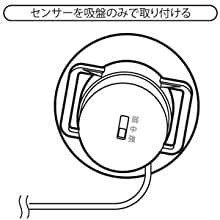 リーベックス Revex 音・衝撃センサー 送信機 【増設用送信機】 X60 チャイム 受信機 インターホン