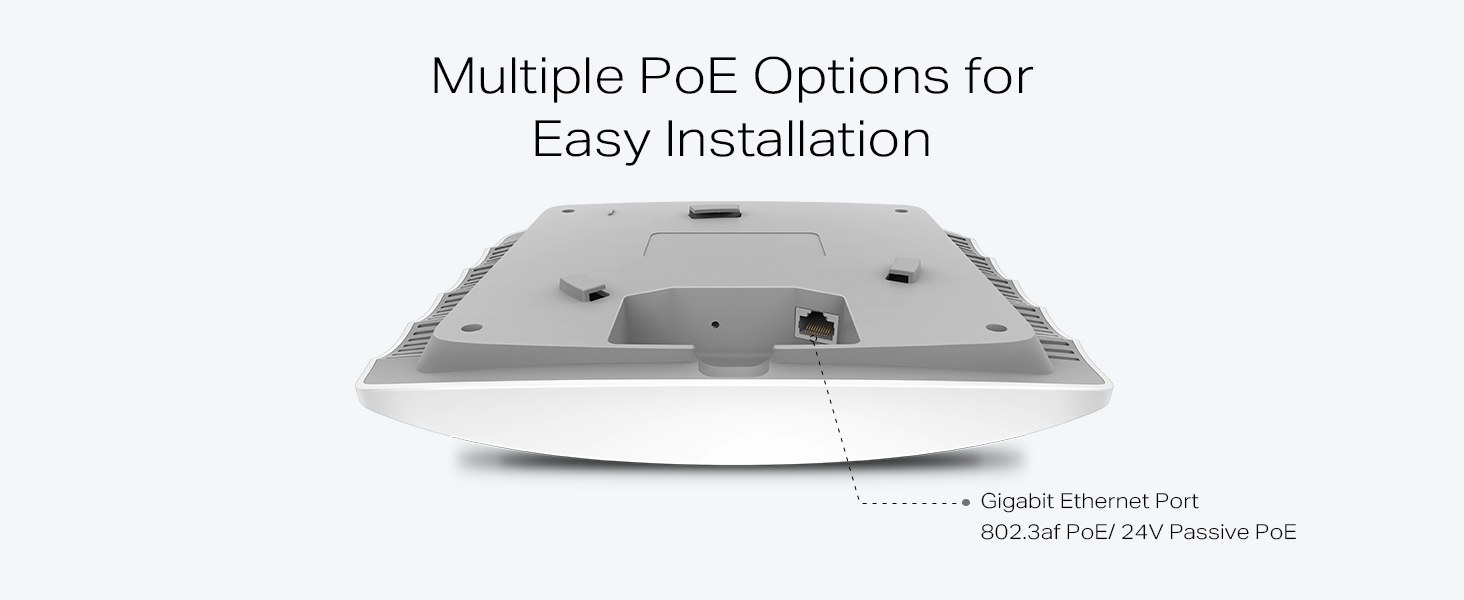 Tp Link Eap225 V3 Wireless Mu Mimo Gigabit Ceiling Mount Netgear Gs105e100pes Switch Ethernet 5port Vlan Green Poe