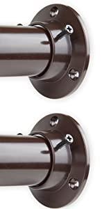 "1.5"" Rod with Wall Socket - Cocoa"