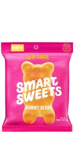 SmartSweets Fruity Gummy Bears