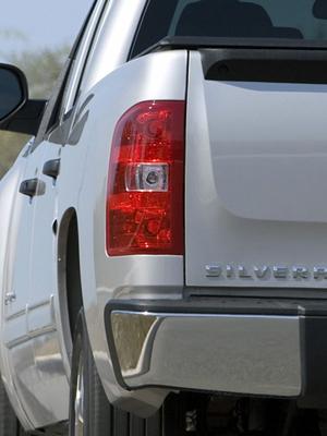 07-13 Chevy Silverado LED Smoked Tail Lights WinJet WJ20-0067-05