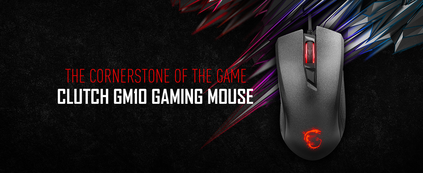 Clutch GM10 Gaming Mouse