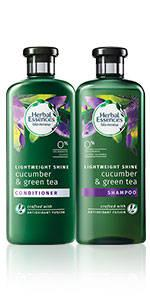 Herbal Essences Cucumber and Green Tea shampoo conditioner collection