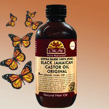 Okay Black Jamaican Castor Oil