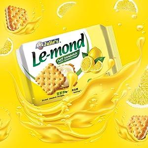 Julie's Lemond Lemon Sandwich