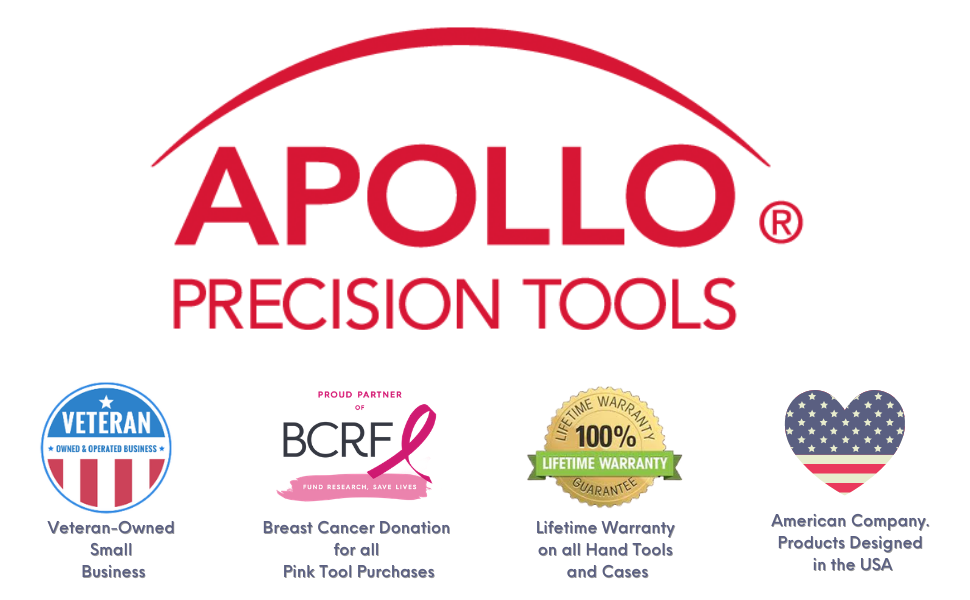 64 Piece Roadside and Emergency Tool Kit apollo tools