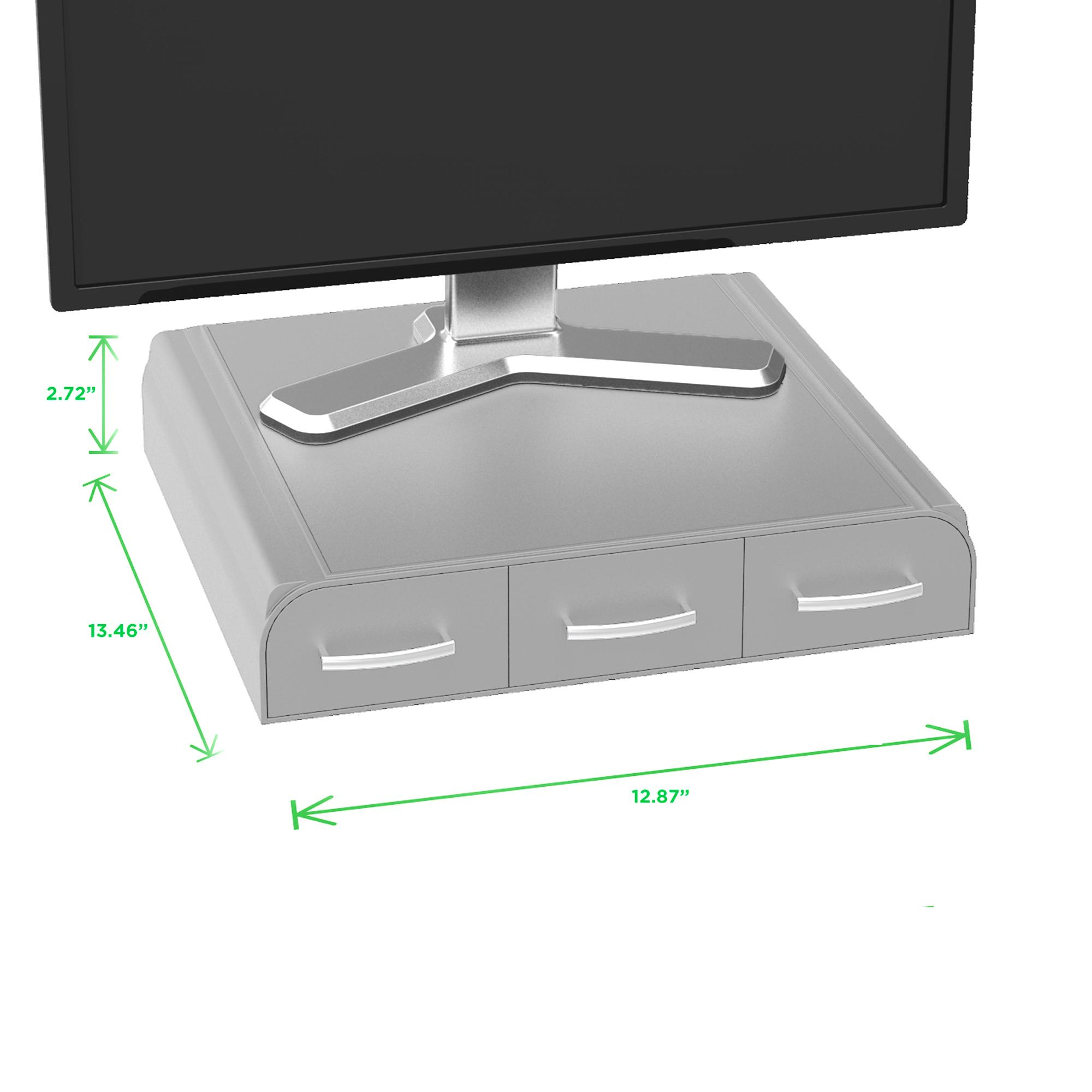 Amazon Com Mind Reader Pc Laptop Imac Monitor Stand And