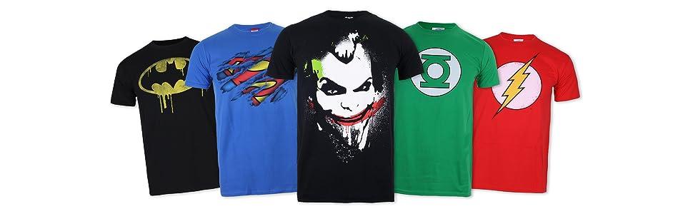 Magliette DC fumetti
