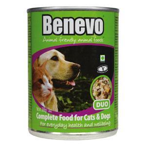 Benevo Veganes Hunde und Katzen Feuchtfutter, 396 g