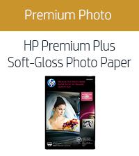 HP Premium Plus Soft-Gloss Photo Paper