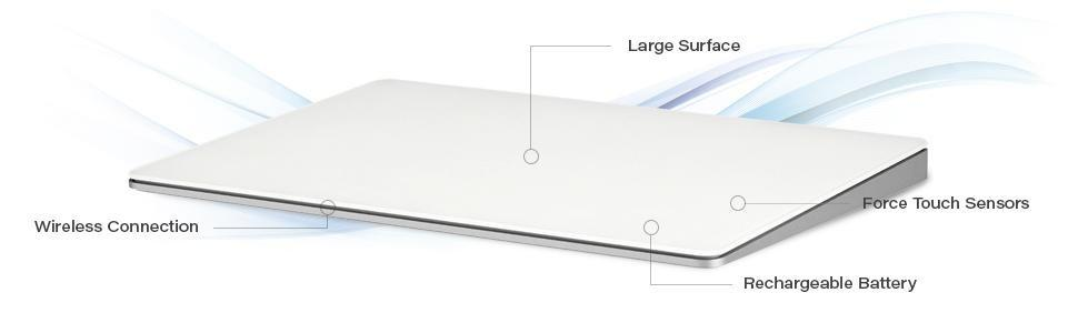 Apple trackpad 2; magic trackpad; apple; macbook pro; imac; mac; os x; MJ2R2LL/a; bluetooth