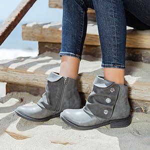 Blowfish Womens Malibu Vegan Vynn Ankle Boots Fashion Shoes UK 3-8
