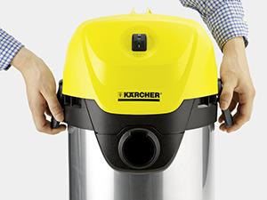 Karcher WD3 Aspirateur inox multifonctions 1000W, imychic