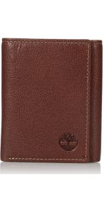 mens leather rfid blocking wallet