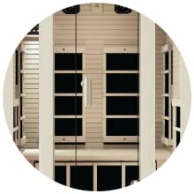 tempered glass, glass, tempered, infrared sauna