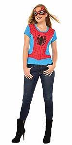 women's spiderman shirt