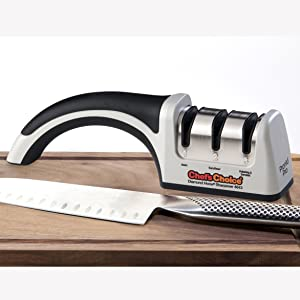 Amazon.com: ChefsChoice 4643 ProntoPro - Afilador manual ...